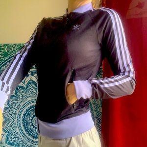 Adidas floral jacket